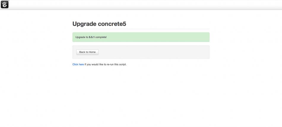 concrete5 5.5.1
